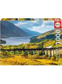 Puzle 1000 piezas viaducto de glenfinnan, escocia