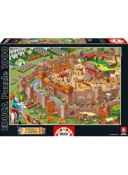 Puzzle 1000 piezas Edad Media