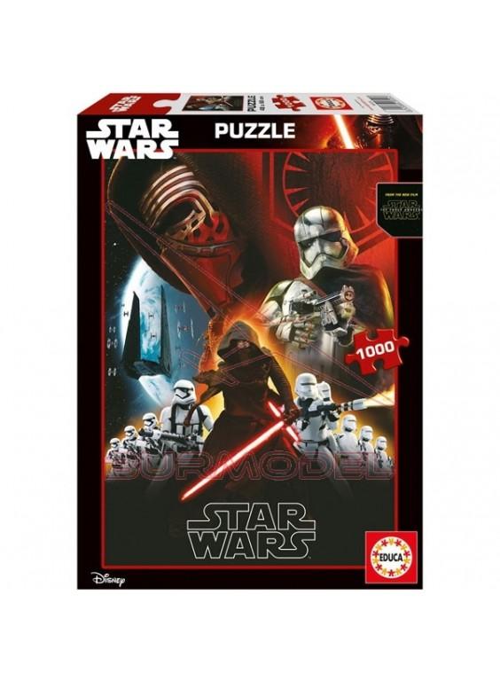 Puzzle 1000 Star Wars: El despertar de la fuerza