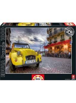 Puzzle 1000 piezas atardecer en París