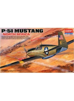 Maqueta avión P-51 Mustang North Africa 1/72