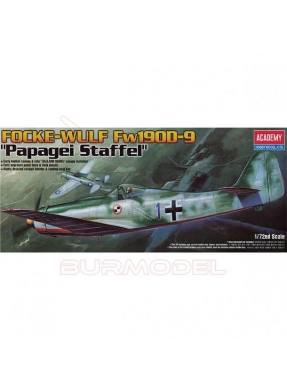 Avión Focke-Wulf FW-190D Papagei Staffel 1/72
