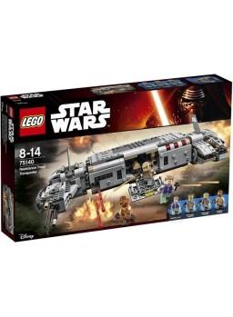 Maqueta plástico Transporte de la Resistencia Lego