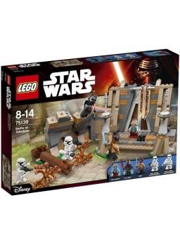 Maqueta plástico Batalla en Takodana piezas Lego