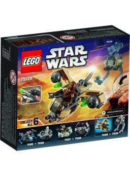 Maqueta de plástico nave de Chewbacca piezas Lego