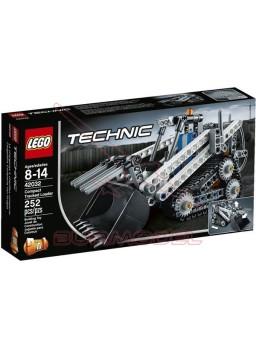 Construcción plástico pala cargadora oruga LEGO