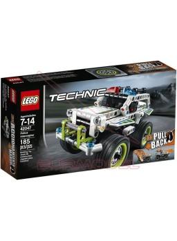 Lego Interceptador Policial con motor de carga manual