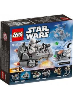 Star Wars Lego First Order Snowspeeder 91 piezas
