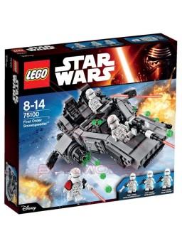 Lego Star Wars Microcaza First Order Snowspeeder 91 piezas