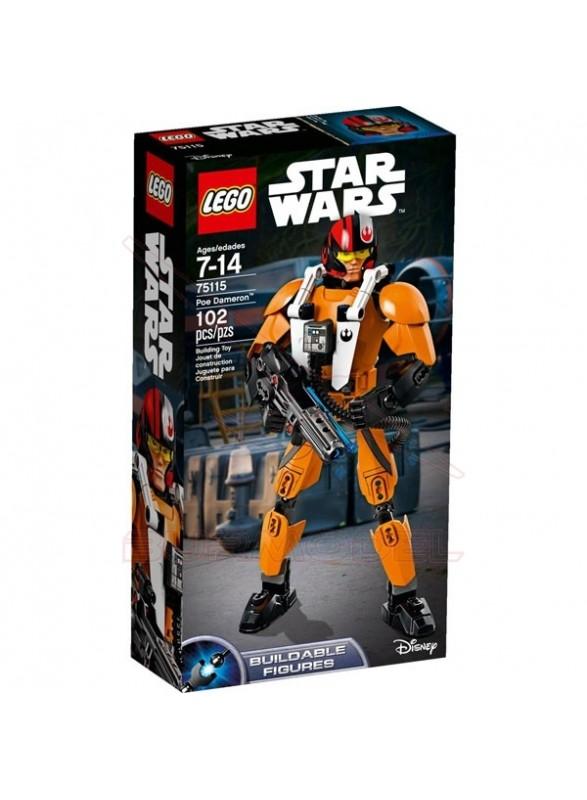 Figura Poe Dameron Star Wars Lego 102 piezas