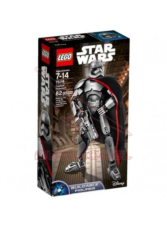 Personaje Star Wars Capitán Phasma Lego