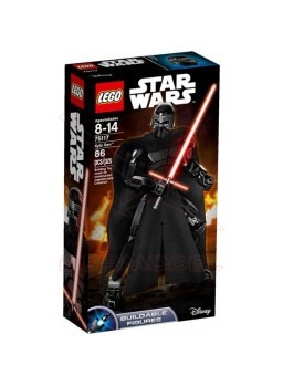 Lego Figura Star Wars Kylo Ren 86 piezas
