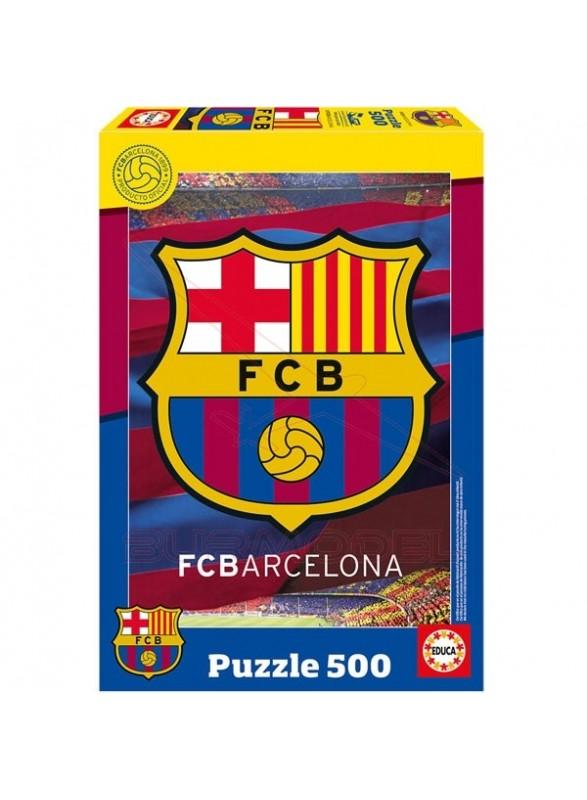 Puzzle 500 piezas fc barcelona