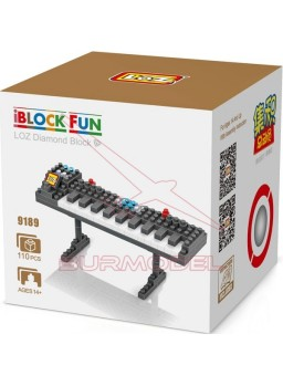 Juego montaje por bloques órgano musical