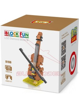 Kit montaje de bloques Violín 160 piezas