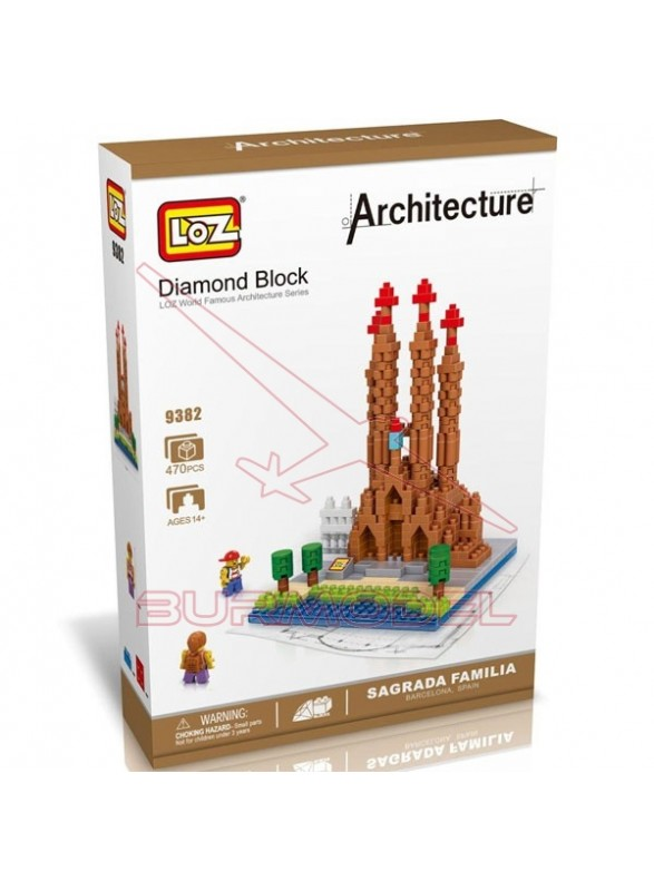 Kit de montaje Sagrada Familia 470 piezas