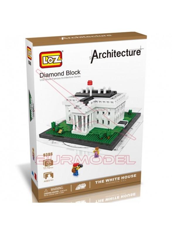kit montaje por bloques de la Casa Blanca 1170 pcs