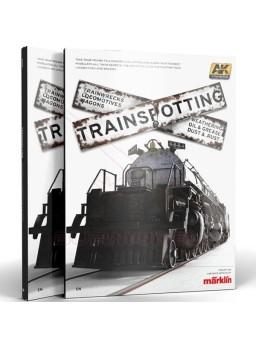 Libro Trainspotting Locomotoras y vagones, Español