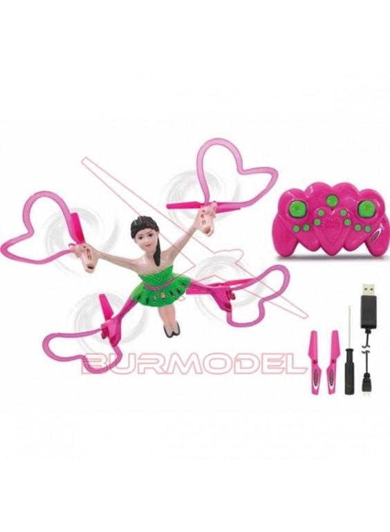 Drone princesa Quadrella AHP