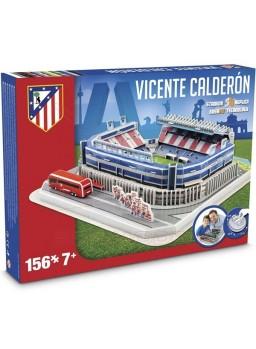 Estadio Vicente Calderón Atlético Madrid.Puzzle 3D