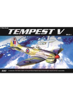 Maqueta avión escala 1/72 Hawker Tempest V
