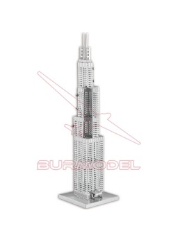 Maqueta de metal Willis Tower 1/3877