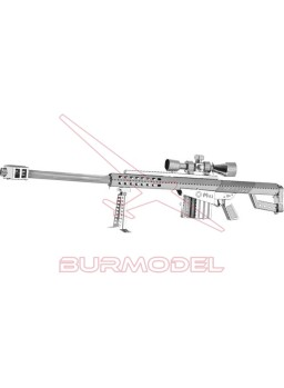Maqueta 3D en metal Rifle M82A1 1/10