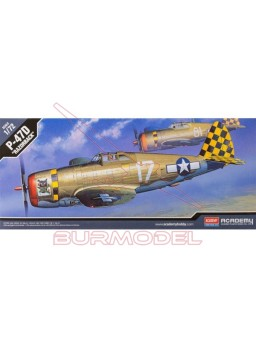 Maqueta avión P-47D Thunderbolt Razorback 1/72