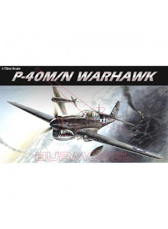 Maqueta avión P-40M/N Warhawk WWII escala 1/72