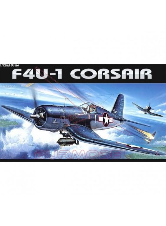 Avión para montar F-4U-1 Corsair US Navy 1/72