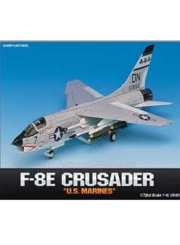 Maqueta Avión F-8E Crusader US Marines escala 1/72