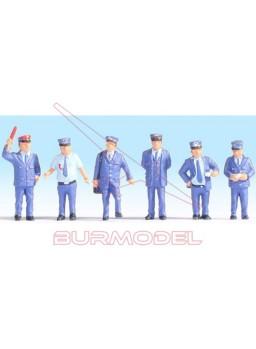Figuras personal ferroviario español 1/87