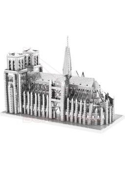 Maqueta 3D metal Catedral de Notre Dame