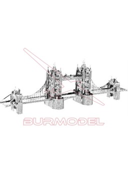 Maqueta de metal 3 dimensiones Tower Bridge