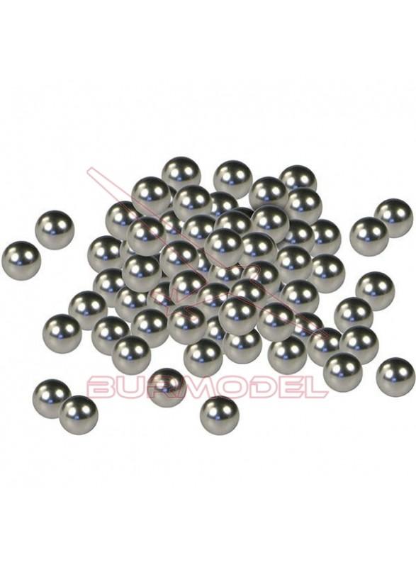Bolas mezcladoras de pintura acero inoxidable 80 unidades