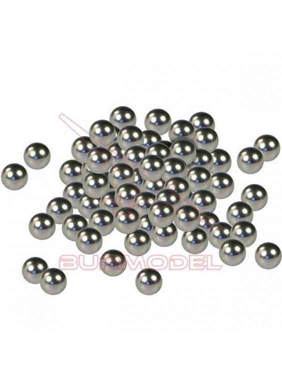 Bolas agitadoras de pintura acero inoxidable 80 unidades