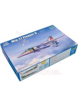 Maqueta avión Mig27 Flogger D 1/48