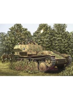 Tanque alemán Flak 2cm 38 Pz.Kpfw.38 (t) 1/35