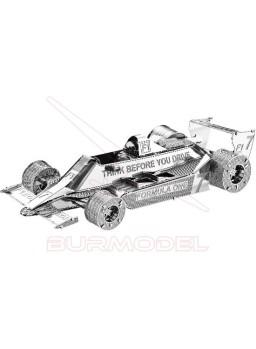 Maqueta metal 3D Fórmula 1 F102