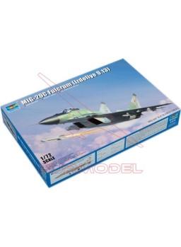 Maqueta avión Mig-29C Fulcrum 1/72