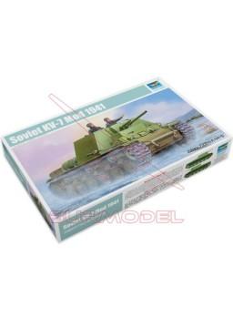 Maqueta tanque KV-7 Modelo 1941 1/35