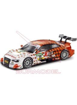 "Coche Scalextric WOS Audi A5 DTM ""Mortara"""