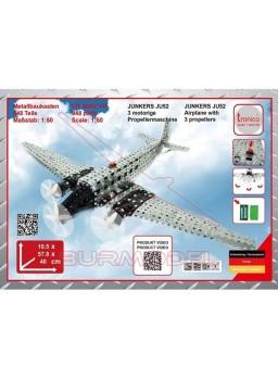 Juego construcción avión Junkers JU 52 Flugzeug