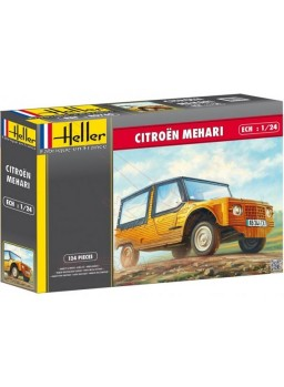 Maqueta Citroën Mehari 1/24