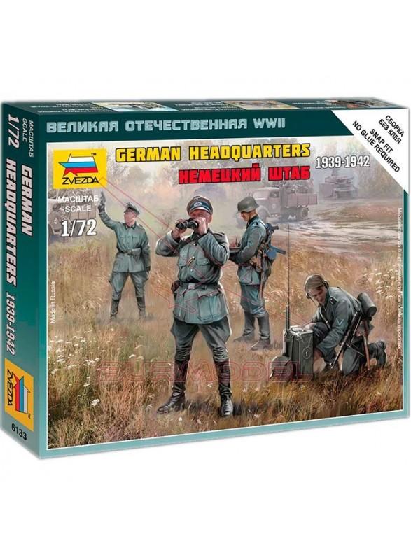 Figuras de mandos alemanes escala 1/72