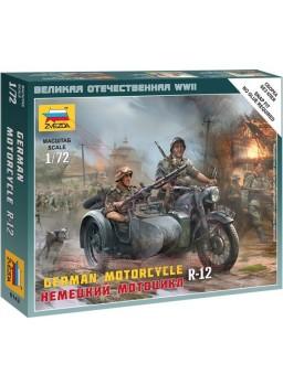 Soldados alemanes en sidecar escala 1/72