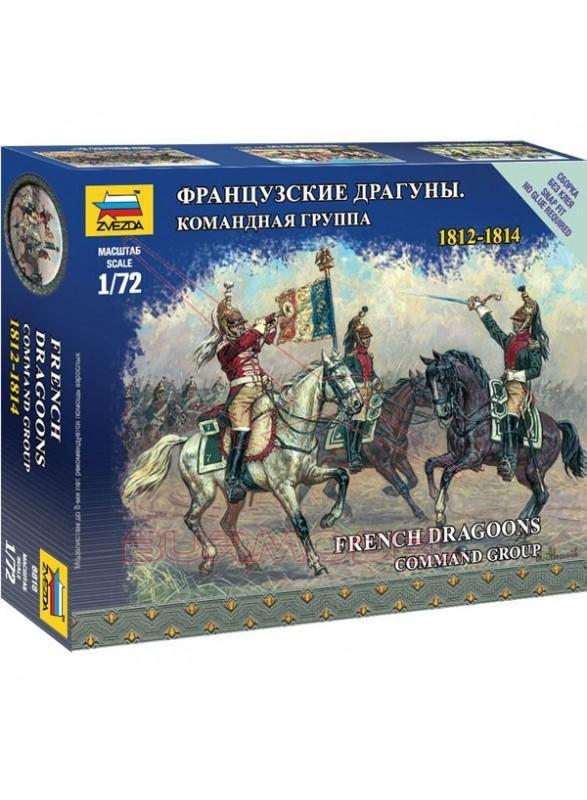 Infantería a caballo Francesa 1812-1814 1/72