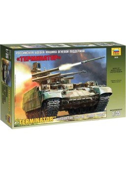 Maqueta Tanque BMPT Terminator 1/35
