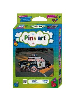 Pins Art Coche de Policía