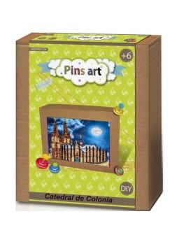 Juego montaje Pins Art Catedral de Colonia